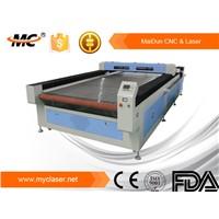 MC1630 Auto feeding fabric laser machine textiles leather baby dress cutting