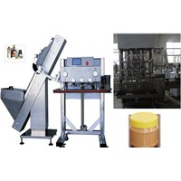 Automatic Peanut Butter Filling & Capping Machine