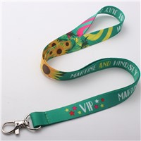 High quality heat transfer polyester lanyards