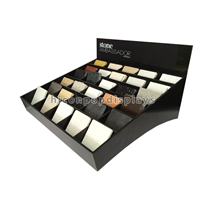 Countertop Acrylic 25 Pieces Stone Sample Display Boxes