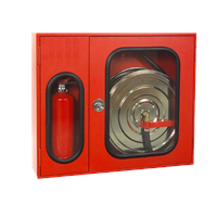 Duntop Canvas Fire Hose Cabinet Fire Hose Box With Lock
