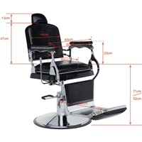 Imitating ancient style--Barber chair