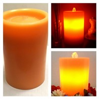 Hot Whosale Led water fountain flameless candles DHL Shipping Free