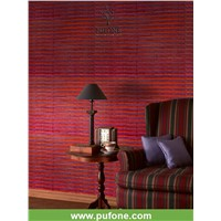 10 colors Wood Veneer Weaved by Oldest Loom wallpaper design