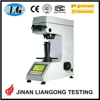 High precision optical measurement system automatic turret microhardness vickers tester