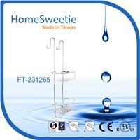 HomeSweetie Stainless Steel 2-Tier Bathroom Shelf