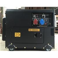 7kw dual power diesel generator 7kw 1 phase diesel generator 7kw 3 phase diesel generator