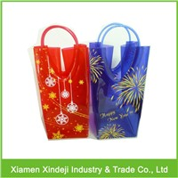 PVC Plastic Wine Cooler Bag for Beverage Packaging