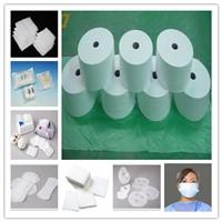 Airthrough Nonwoven Fabric