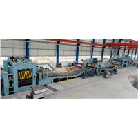 automatic steel coil slitting and rewinding machine line