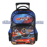 Race Car Kids Trolley Bags