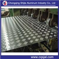 1050 1060 3003 5754 5052 6061 aluminum checkered sheet / embossed aluminum tread plate