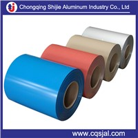 1100 3003 3105 5052 color coated aluminum coil sheet