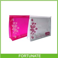 Clear PVC Pouch, Stand Up Zipper Bag, Cosmetic Travel Bag
