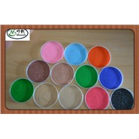 Fine Colored Sand for Architectural Decoration and Construction