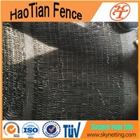 HDPE High Shielding Capacity Agriculture Black Color 2mx100m Shade Net