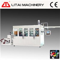 High Output Plastic Food Container Thermoforming Machine