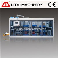 Plastic Cup Lid Making Machine with Punching