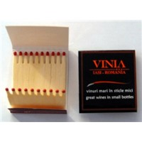 Wholesale hotel book match safety wooden matchbooks