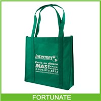 Recyclable pp non woven shopping bags with handle