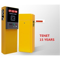Automatic parking gate barrier & card dispenser for car park access control system