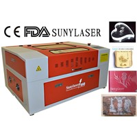 Top Quality Handicraft  Laser Engraving Machine with red dot pointer