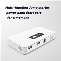 Car Jump Starter Li-polymer 10000mAh Power Bank for Cars and Phones