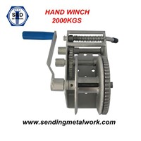 Hand Winch Strap/Webbing/ Rope 3speed- Boat Car Marine Trailer 2000kg