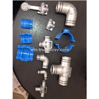 Alu. Pipe Fittings