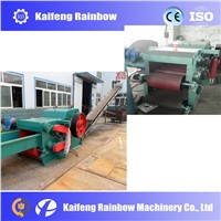 high efficient drum wood chipper for  raw wood