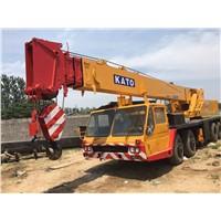 Used 40 Ton KATO NK-400-E Truck Crane for Sale, Second Hand 40 Ton KATO Mobile Crane