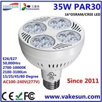 VAKESUN LIGHT LED UL CE 35W PAR30 OSRAM LED AC100-240V E26 E27