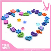 Zinc Alloy Metal Colorful Wholesale Floating Living Lockets Necklace Charms