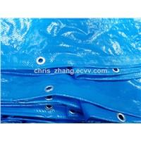 PE Tarpaulin, 55-200g/M2 Blue/Blue Color