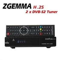 factory price HD DVB-S2 zgemma h.2s for UK market 3 pin plugs
