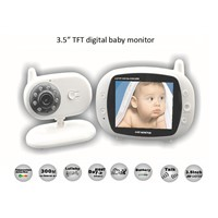 3.5 inch Digital Wireless Audio Video Baby Monitor
