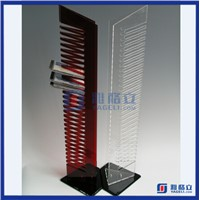 Acrylic retail DVD display stands