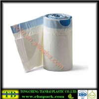 ldpe drawstring commode liners
