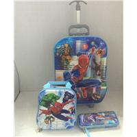 6D children school trolley bag/ EVA kids luggage bag