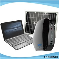 Portable 20w Solar Panel Lights Home Solar Kits for Laptop