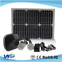 Solar Battery Box Home Solar Systems with 20w Solar Panel