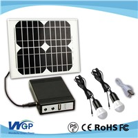 Monocrystal Rechargeable Solar Cell with Lighting Kit