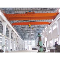 Workshop single girder overhead bridge crane
