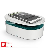 Close Contact Induction Stereo Speaker with Wireless Charging