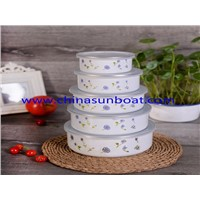 Enamel mixing bowl sets