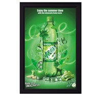 Beverage Advertising and Promotion Light Box