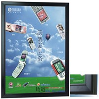 LED Multipurpose Business Publicity Poster Frame with Black Edge