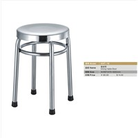canteen chair student dining chair stainless steel