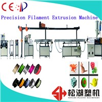 1.75/3.0mm Diameter ABS / PLA / NYLON / PEEK / TPU 3D Printer Filament Extrusion Line China