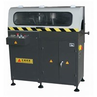Corner automatic cutting saw for aluminum window & door